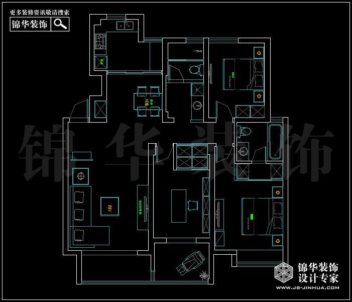 <strong><a href='http://www.js-jinhua.com/Unit-show-id-74/' target='_blank' class='strong'>金陵尚府</a></strong>D2户型 户型