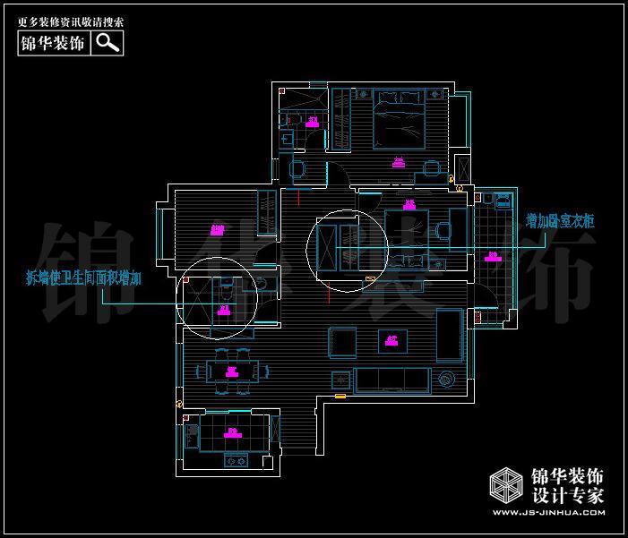 融侨中央花园8栋 户型