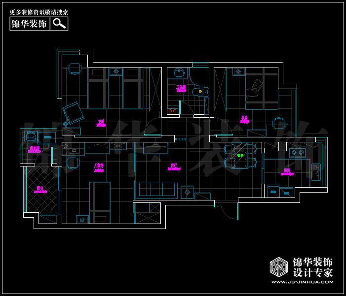 <strong><a href='http://www.js-jinhua.com/Unit-show-id-118/' target='_blank' class='strong'>长安西街1号</a></strong> 户型