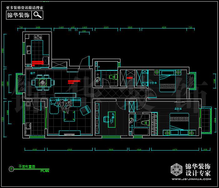 军区总院140平方 户型