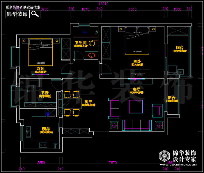 <strong><a href='http://www.js-jinhua.com/Unit-show-id-l6/' target='_blank' class='strong'>奥体新城</a></strong>海棠园7栋 户型