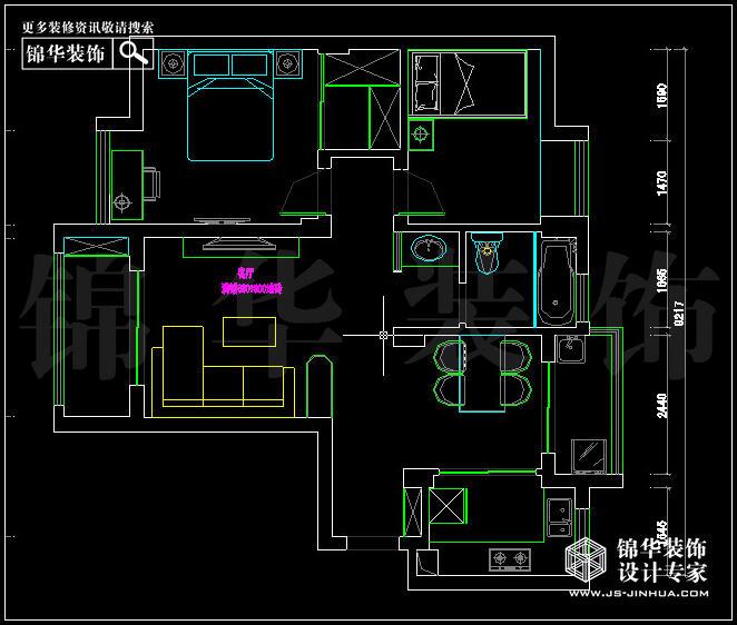 中电颐和家园3栋 户型