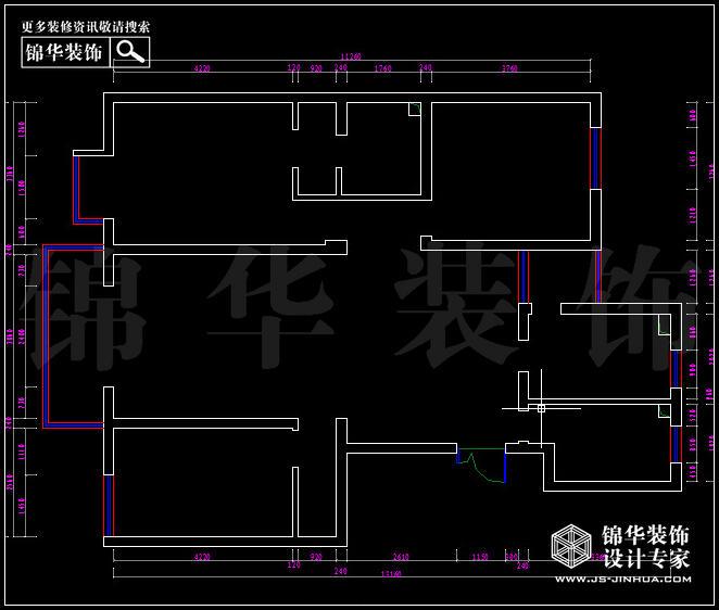 <strong><a href='http://www.js-jinhua.com/Unit-show-id-74/' target='_blank' class='strong'>金陵尚府</a></strong>A3户型142平方 户型