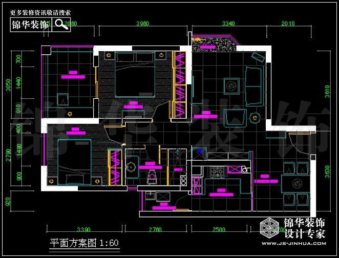 21世纪国际公寓75平米 户型