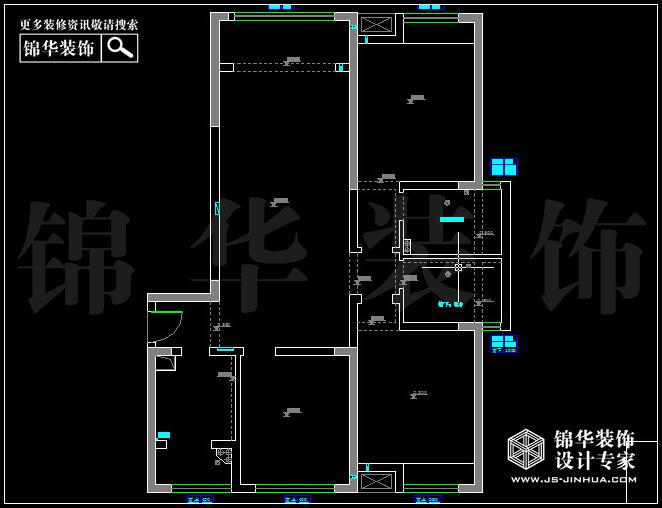 南京万达广场西地135平方 户型
