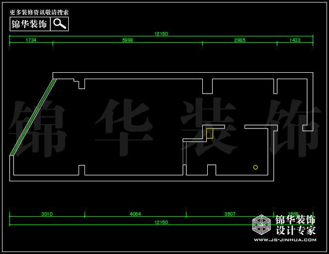 雅居乐53平方 户型