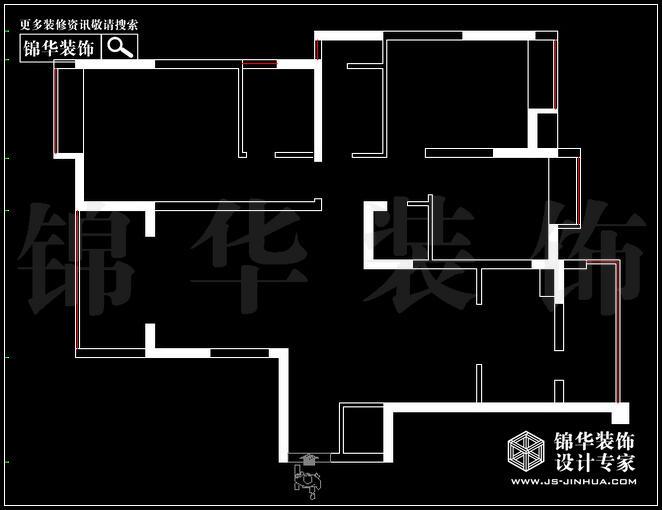雅居乐146平方 户型