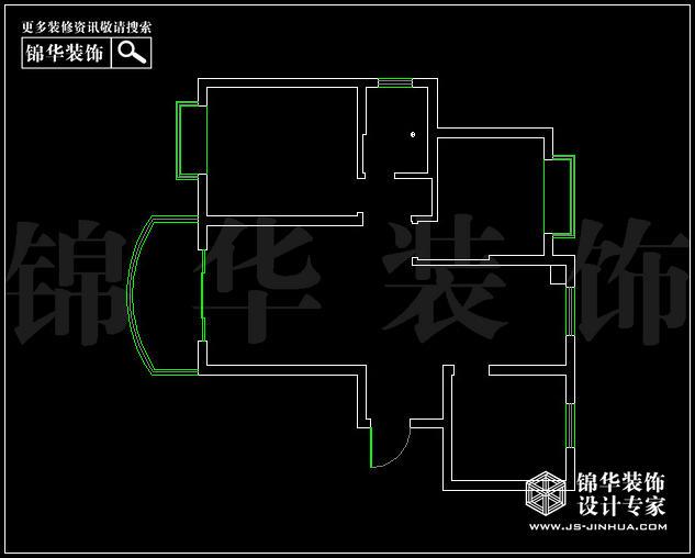 亚东观云国际A4户型104平方 户型