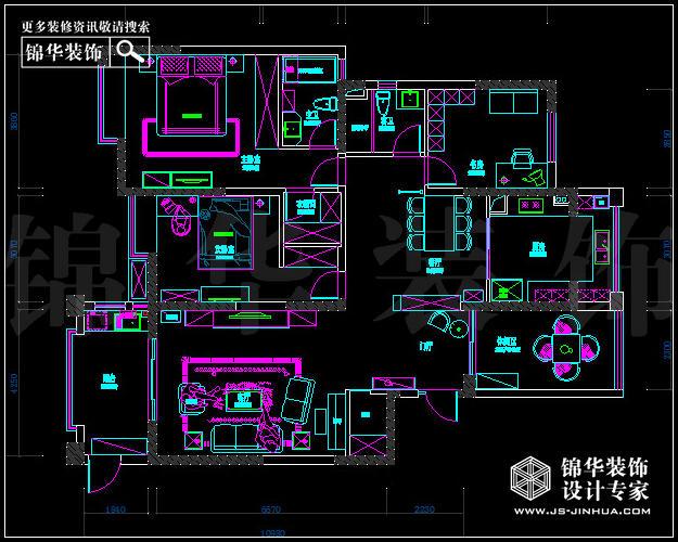 在本案设计中,设计师通过一些墙体改造,增加了空间的面积,让空间变的更为宽敞,通透。原本厨房的那堵墙在经过设计师巧妙的改造了之后,呈现出一个更大的U形厨房,又完美的营造出更通透的空间,让空间得到完善。在客厅处设计师又巧妙的增加了空间的储藏功能,利用了白色混油木饰面制作隐形门,与墙体形成一个整体。在电视背景的处理上,设计师利用背景墙砖、线条以及壁纸的结合,让整个空间都活跃了起来。无论是家具还是配饰均以其优雅、唯美的姿态,平和而富有内涵的气韵,描绘出居室主人高雅、贵族之身份。