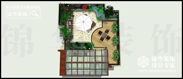 保利紫晶山A户型142平米顶楼 户型
