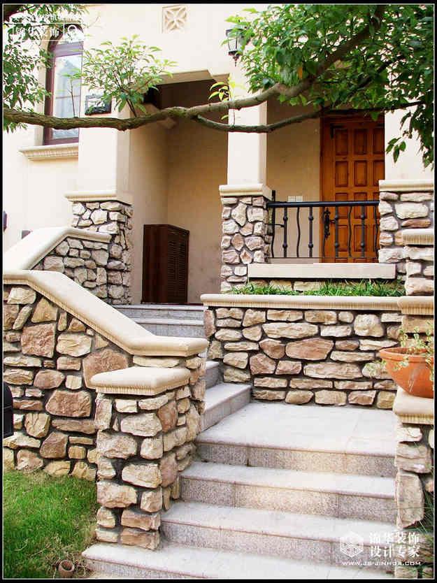 加州城装修图片-别墅图片大全-简欧风格-南京锦华