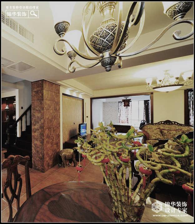 山水风华装修图片-别墅图片大全-欧式古典风格-南京