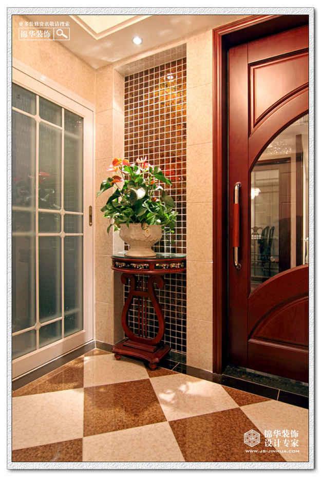 星雨华府装修图片-三室两厅装修效果图-欧式古典风格