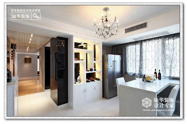 天水滨江装修图片-三室两厅装修效果图-现代简约风格