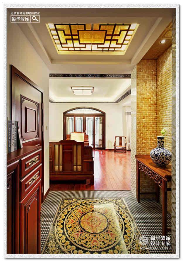 三室兩廳裝修效果圖-新中式風格;