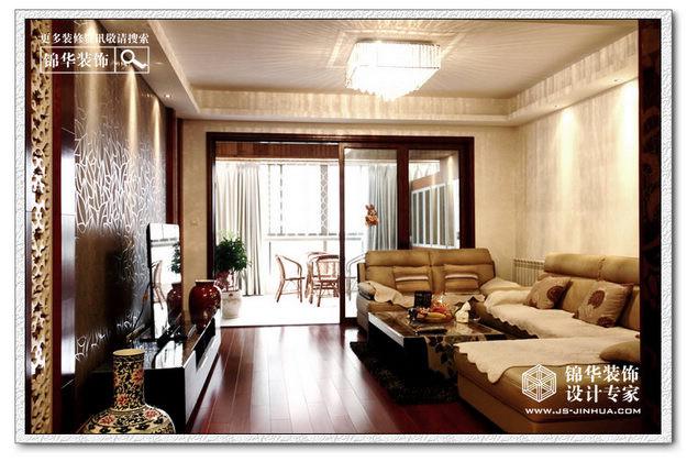 中電頤和家園花園洋房裝修圖片-三室兩廳裝修效果圖