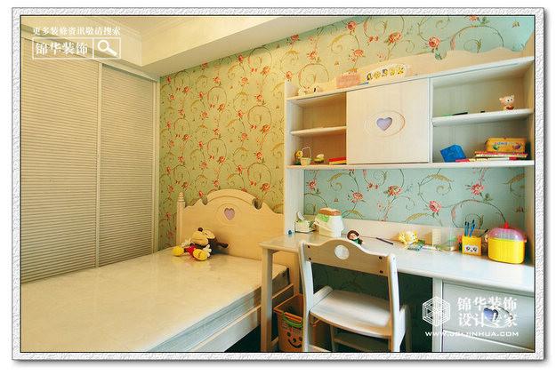 阅城国际装修图片-两室两厅装修效果图-简欧风格