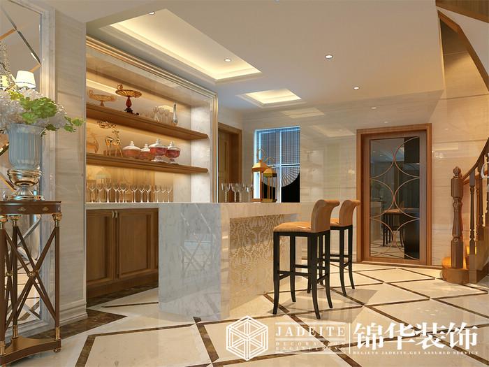 吧台效果图-装修图片-南京锦华装饰设计公司