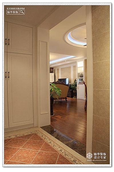 蔚蓝之都装修图片-两室两厅装修效果图-简欧风格-南京