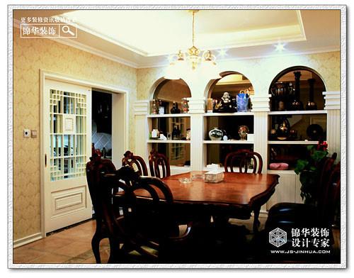 康橋水岸裝修圖片-別墅圖片大全-歐式古典風格-南京