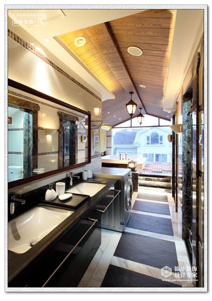扬州西郊别墅装修图片-别墅图片大全-新中式风格
