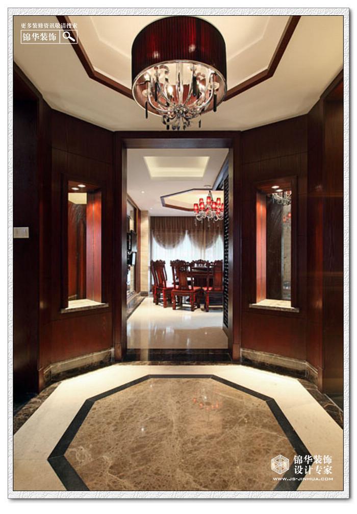 西郊别墅装修图片-别墅图片大全-新中式风格-南京
