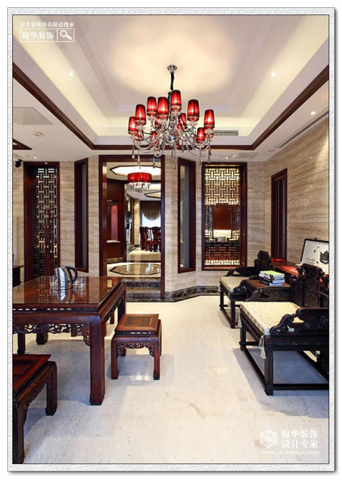 扬州西郊别墅装修图片-别墅图片大全-新中式风格-南京