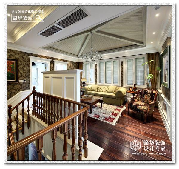 钟山美庐装修图片-别墅图片大全-欧式古典风格-南京