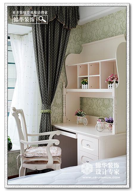 恒大绿洲装修图片-三室两厅装修效果图-简欧风格