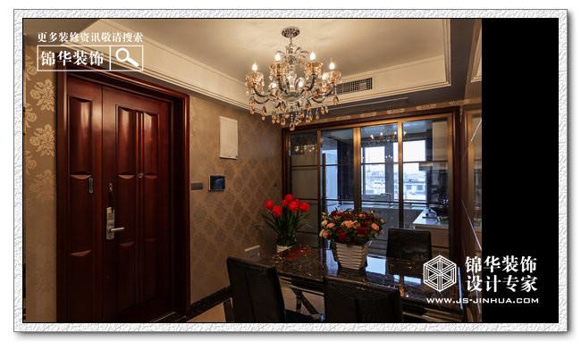 左右阳光装修图片-三室两厅装修效果图-新古典风格