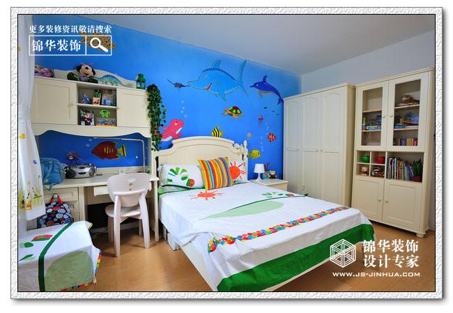 儿童房装修效果图-装修图片-南京锦华装饰设计公司