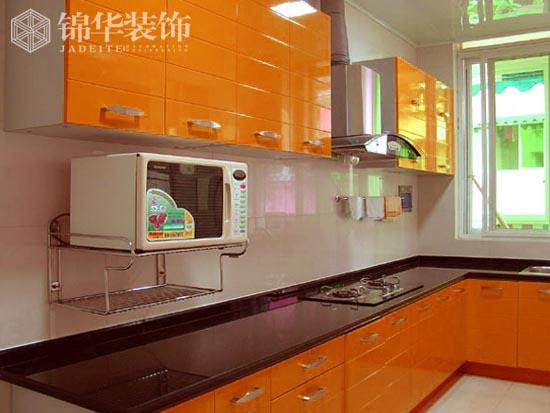 """03 装修图片 03 橱柜   名称:简洁,明快的厨房一角,不仅仅""""色,香图片"""