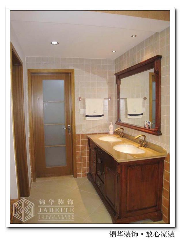 凰和鸣苑 东南亚风情装修 三室两厅装修效果图