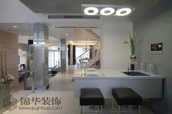 玛斯兰德装修图片-别墅图片大全-现代简约风格-南京