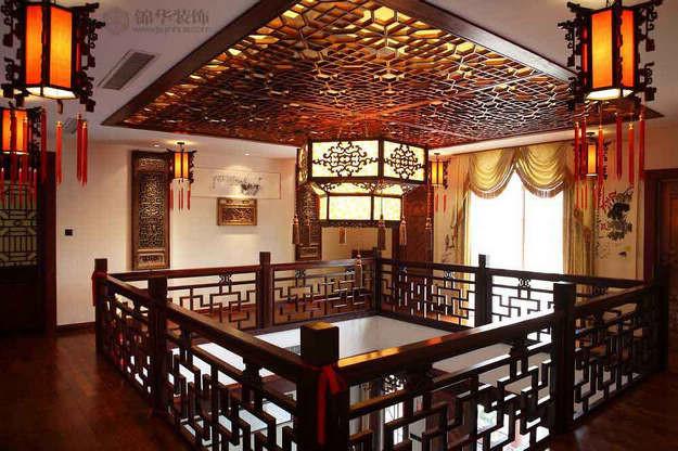 安徽西埠装修图片-别墅图片大全-新中式风格-南京
