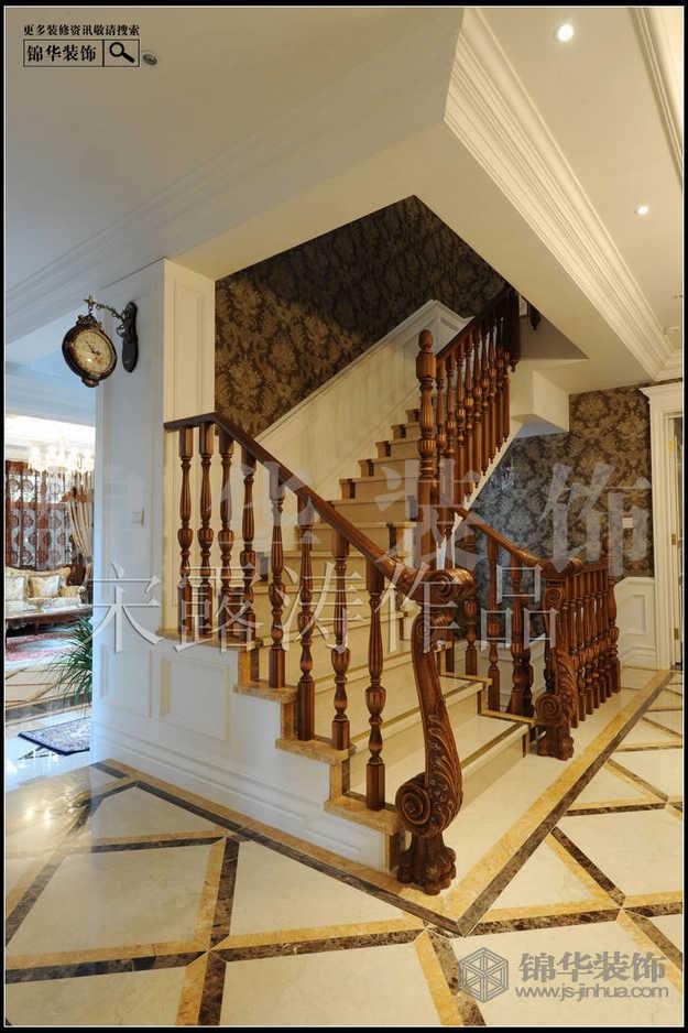 欧式别墅户型楼梯